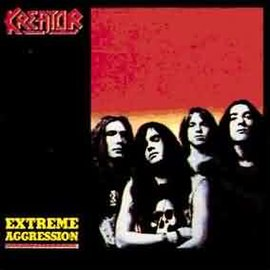 Обложка альбома Kreator «Extreme Aggression» (1989)