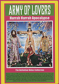 Обложка альбома Army of Lovers «Hurrah Hurrah Apocalypse – The Definitive Video Collection» (2005)