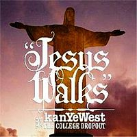 Обложка сингла «Jesus Walks» (Канье Уэста, 2004)