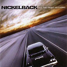Обложка альбома Nickelback «All the Right Reasons» (2005)