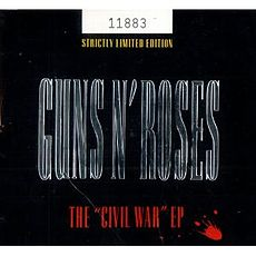 "Обложка альбома Guns N' Roses «The ""Civil War"" EP» (1993)"