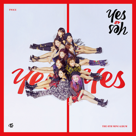 Обложка альбома Twice «Yes or Yes» (2018)