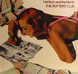 Обложка альбома Hatfield and the North «The Rotters' Club» (1975)