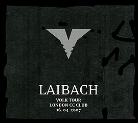 Обложка альбома Laibach «Volk Tour London CC Club» (2007)