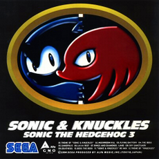 Обложка альбома  «Sonic & Knuckles • Sonic the Hedgehog 3» (1994)