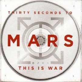 Обложка сингла 30 Seconds to Mars «This Is War» (2010)