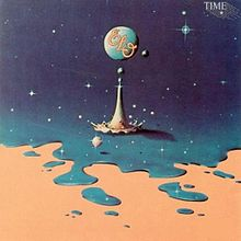 Обложка альбома Electric Light Orchestra «Time» (1981)
