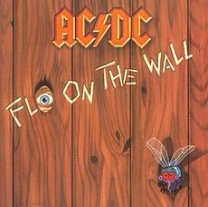 Обложка альбома AC/DC «Fly on the Wall» (1985)