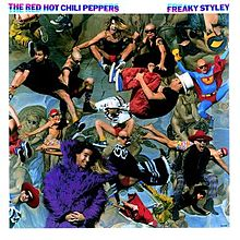 Обложка альбома Red Hot Chili Peppers «Freaky Styley» (1985)