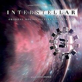 Обложка альбома Ханса Циммера «Interstellar: Original Motion Picture Soundtrack» (2014)