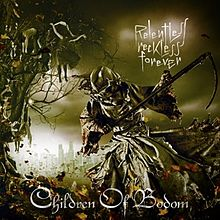 Обложка альбома Children of Bodom «Relentless Reckless Forever» (2011)