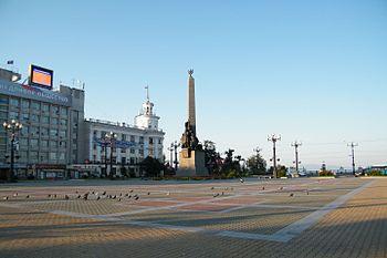фото комсомольская площадь хабаровск