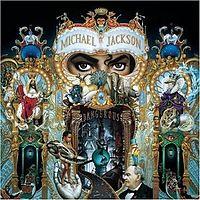 Обложка альбома «Dangerous» (Майкла Джексона,1991)