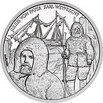 2005 Austria 20 Euro Admiral Tegetthoff-The Polar Expedition back.jpg