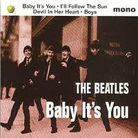 Обложка сингла «Baby It's You» (The Beatles, 1995)