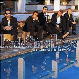 Обложка сингла Backstreet Boys «Just want you to know» (2005)