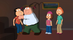 Quagmire and Meg promo.png