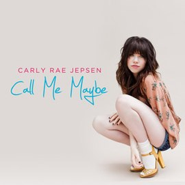 Обложка сингла Карли Рэй Джепсен «Call Me Maybe» (2011)