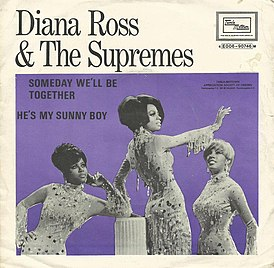 Обложка сингла Diana Ross & the Supremes «Someday We'll Be Together» (1969)