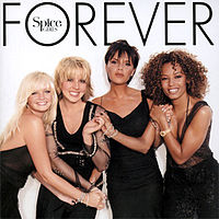 Обложка альбома Spice Girls «Forever» (2000)