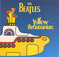 Обложка альбома The Beatles «Yellow Submarine Songtrack» (1999)