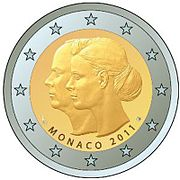 €2 Commemorative coin Monaco 2011.jpg