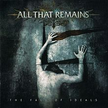 Обложка альбома All That Remains «The Fall of Ideals» (2006)