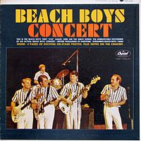 Обложка альбома The Beach Boys «Beach Boys Concert» (1964)