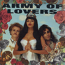 Обложка альбома Army of Lovers «Disco Extravaganza» (1990)