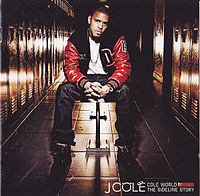Обложка альбома J. Cole «Cole World: The Sideline Story» (2011)