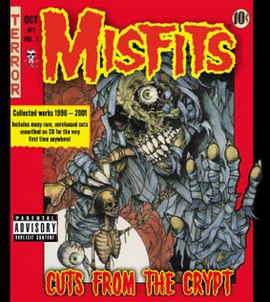 Обложка альбома The Misfits «Cuts from the Crypt» (2001)