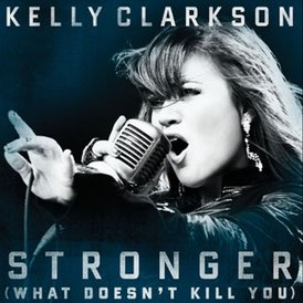 Обложка сингла Келли Кларксон «Stronger (What Doesn't Kill You)» (2012)