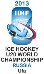 Логотип 2013 IIHF Ice Hockey U20 World Championship