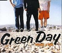 Обложка сингла «Hitchin' a Ride» (Green Day, 1997)