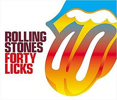 Обложка альбома The Rolling Stones «Forty Licks» (2002)