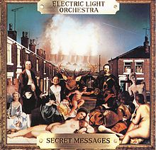 Обложка альбома Electric Light Orchestra «Secret Messages» (1983)