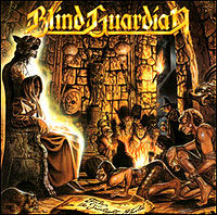 Обложка альбома Blind Guardian «Tales from the Twilight World» (1990)