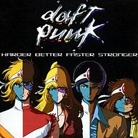 Обложка сингла «Harder, Better, Faster, Stronger» (Daft Punk, 2001)