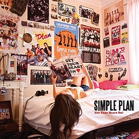 Обложка альбома Simple Plan «Get Your Heart On!» (2011)