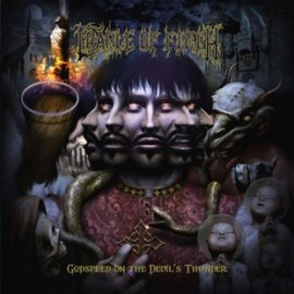 Обложка альбома Cradle of Filth «Godspeed on the Devil's Thunder» (2008)