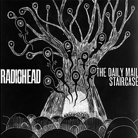 Обложка сингла Radiohead «The Daily Mail»/«Staircase» (2011)
