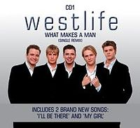 Обложка сингла «What Makes a Man» (Westlife, 2000)