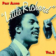 Обложка альбома Литла Ричарда «Pray Along with Little Richard, Volume 2: I'm Quitting Show Business» (1960)