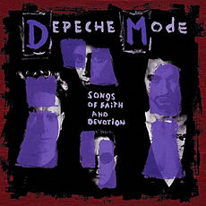 Обложка альбома Depeche Mode «Songs of Faith and Devotion» (1993)