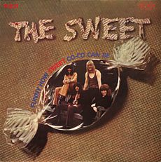 Обложка альбома Sweet «Funny How Sweet Co-Co Can Be» (1971)