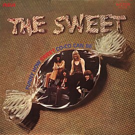 3a0396589634 Обложка альбома Sweet «Funny How Sweet Co-Co Can Be» (1971)