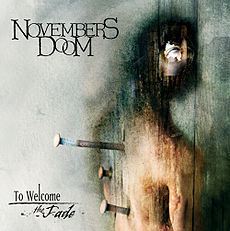 Обложка альбома Novembers Doom «To Welcome the Fade» (2002)