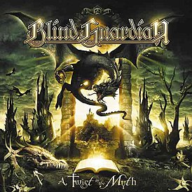 Обложка альбома Blind Guardian «A Twist in the Myth» (2006)
