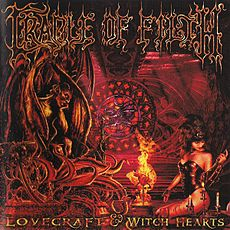Обложка альбома Cradle of Filth «Lovecraft & Witch Hearts» (2002)