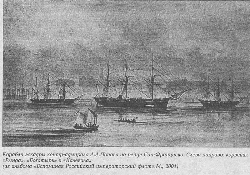 Историки в поисках истины: Визит русского флота в США в 1863-1864 гг.